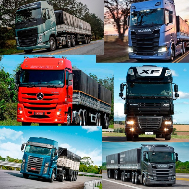 Caminhões MB, Scania, Volvo, VW, DAF, Parcelados [Leia o Anuncio] - Foto 2