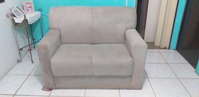 Vendo sofá de 2 lugares  - Foto 3