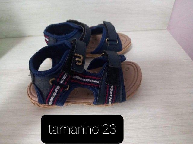 kit -3 tênis e 1 sandália infantil  ( cada unidade sai por R$ 22.50) - Foto 6