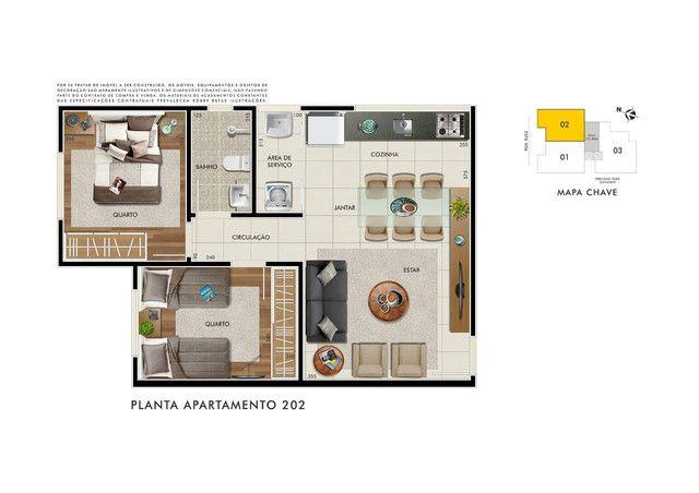 Apartamento à venda com 2 dormitórios em Gloria, Belo horizonte cod:15778 - Foto 2