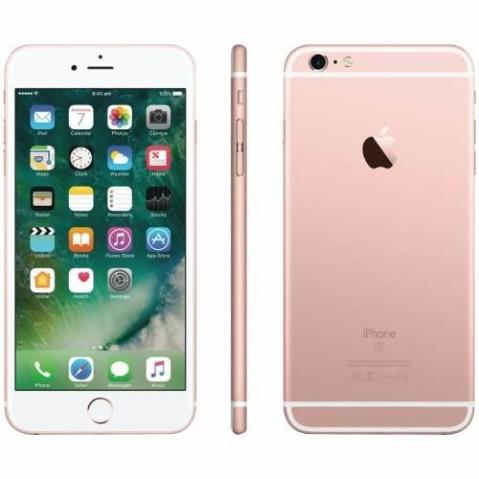 Iphone 6s 64gb novo rosa