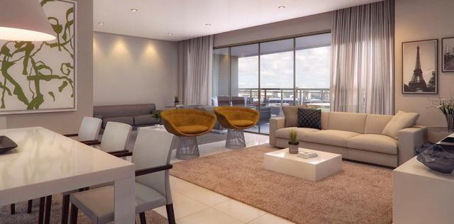 V-Apart.de 203m²,4 suítes,3 vagas,sala de estar para 3 ambientes,Na Torre!