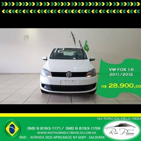 Vw - Volkswagen Fox Trend 1.6 Completo - Super Novo- Aceito seu carro e Financio