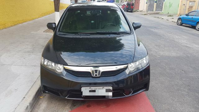 New Civic LXS 2010 Manual Couro Completo