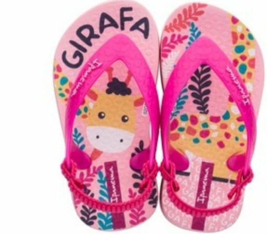47aab0f726 Sandalia Infantil Grendene Ipanema Baby Zoo - Roupas e calçados ...