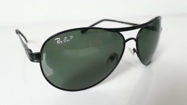 c381340c31d42 Óculos De Sol Aviador Ray Ban Preto Masculino-Envio imediato