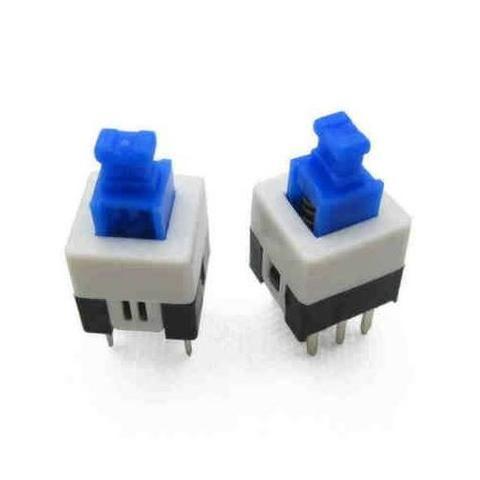 COD-CP91 Kit 4 Unidades Push Tátil Power Chave Botão 7x7 Arduino Automação Robotica