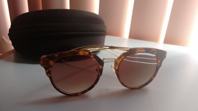 2db7857d7d0a1 Óculos de sol usado uma vez - Bijouterias