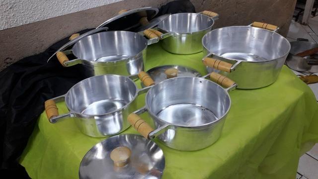 Panelas de alumínio batido Grosso - Foto 2