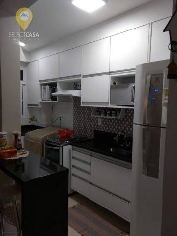 Lindo apartamento em morada de laranjeiras 2 quartos - Foto 6