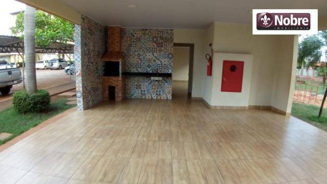 Apartamento para alugar, 68 m² por r$ 1.050,00/mês - plano diretor norte - palmas/to - Foto 4