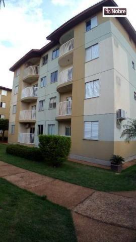 Apartamento para alugar, 68 m² por r$ 1.050,00/mês - plano diretor norte - palmas/to
