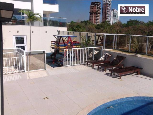 Apartamento com 4 dormitórios para alugar, 151 m² por r$ 3.805,00/mês - plano diretor sul  - Foto 7