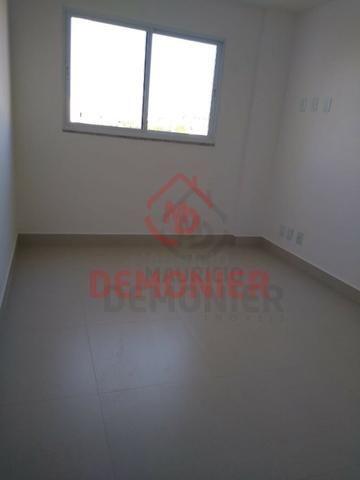 Alugo apartamento novo 2 quartos com suíte, 1 vaga, Campo Grande, com lazer - Foto 9