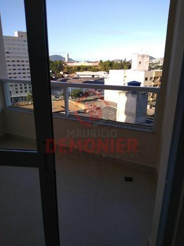 Alugo apartamento novo 2 quartos com suíte, 1 vaga, Campo Grande, com lazer - Foto 7