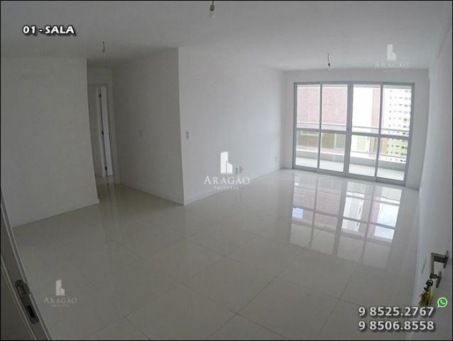Apartamento à venda, 124 m² por r$ 1.150.000,00 - meireles - fortaleza/ce - Foto 3