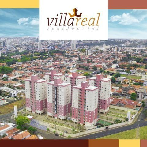 VillaReall Residencial Aptos 2 Dorms 58m2 2 Dorms 1 Vaga C/Varanda Lazer Completo - Foto 2