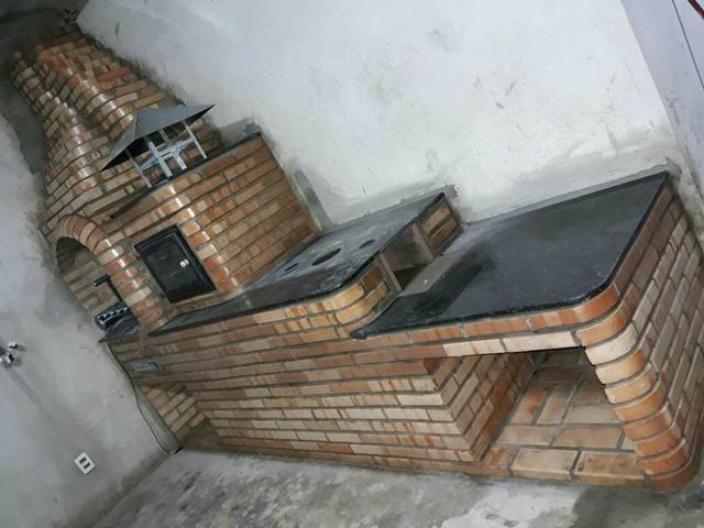 Fogão com forno e churrasqueira . área gourmet.piscina e sauna - Foto 6
