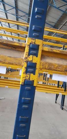 Longarina FIEL 2,20 MTS - 2.400 kgs por nivel - R$ 67,00 cada - Foto 3