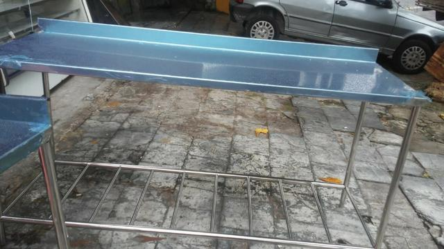 Bancada e bancadas em aço inox, tanques, pias, bojos de pia, mesas em inox - Foto 4