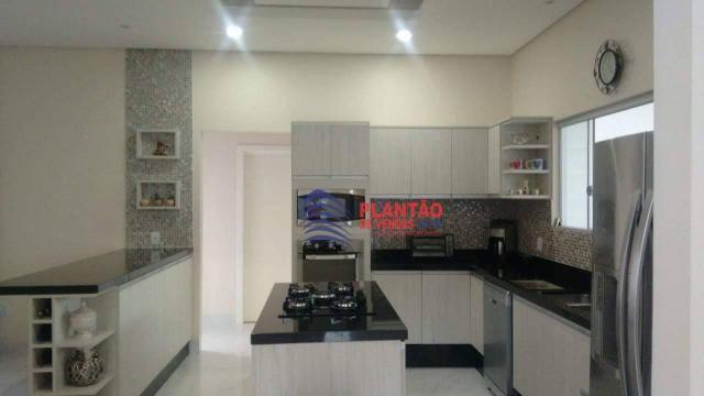Linda casa linear com 4 quartos alto padrão no Viverde fase 2 - Foto 4