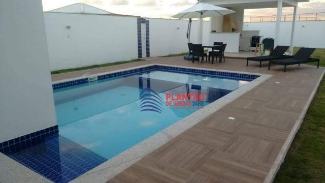 Linda casa linear com 4 quartos alto padrão no Viverde fase 2 - Foto 14