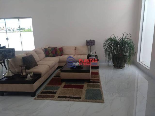 Linda casa linear com 4 quartos alto padrão no Viverde fase 2 - Foto 12