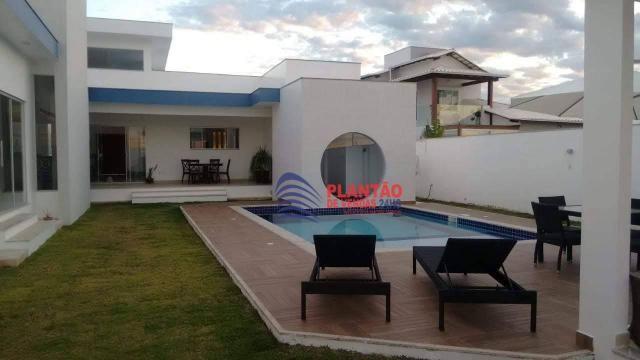 Linda casa linear com 4 quartos alto padrão no Viverde fase 2 - Foto 17
