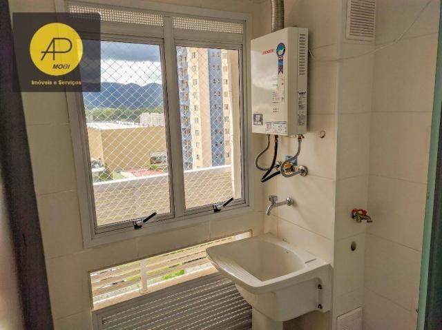 Apartamento com 1 dormitório para alugar, 46 m² - Centro Cívico - Mogi das Cruzes/SP - Foto 9