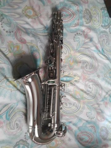 Sax alto Weril Spectra lindo - Foto 3