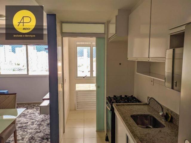Apartamento com 1 dormitório para alugar, 46 m² - Centro Cívico - Mogi das Cruzes/SP - Foto 8