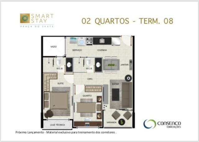 Smart Stay na Ponta Verde, Apartamentos Quarto/Sala em até 120 meses ! - Foto 3