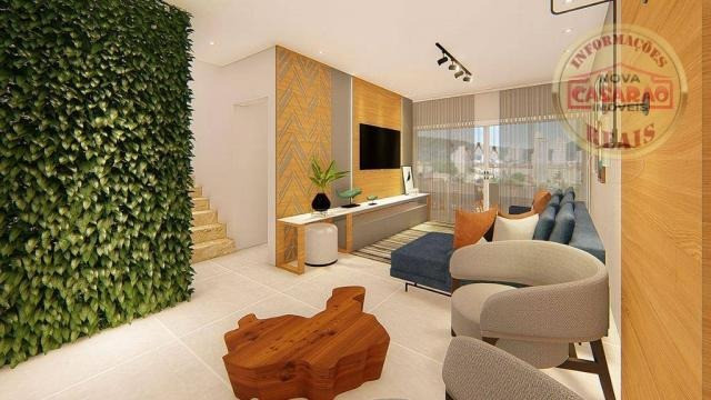 Apartamento com 2 dormitórios à venda, R$ 458.350,00 - Canto do Forte - Praia Grande - Foto 10