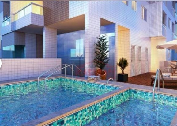 Apartamento 2 dormitórios no Canto do Forte em Praia Grande - Foto 6