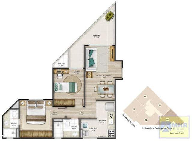 Apartamento a venda em Jardim Camburi 2 quartos 1 suíte (código:PL0011) - Foto 18