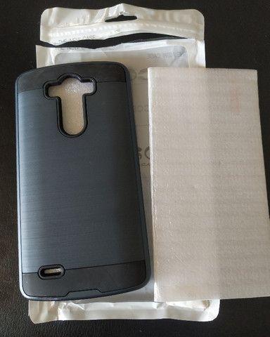 Case e Película de Vidro LG G2