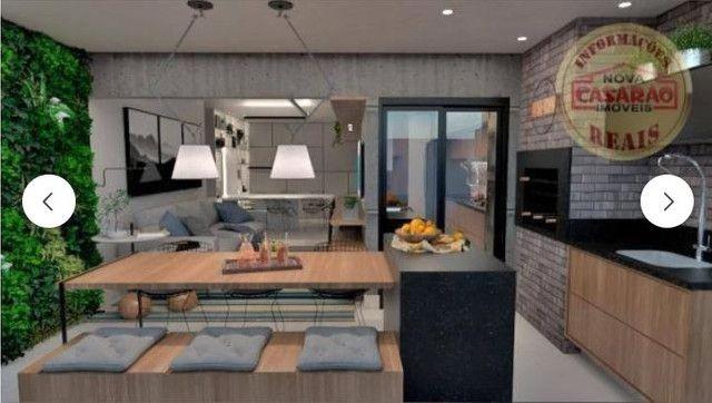 Apartamento com 2 dormitórios à venda, 83 m² R$ 442.000,00 -Canto do Forte, Praia Grande - Foto 11