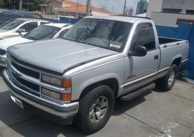 SILVERADO 1998 4.1 6CC KIT GAS 25MT RODA LIGA 16 ABS RARIDADE SÓ 49.990 TROCO/PASSO CARTÃO