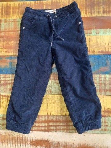 03 calças infantil - tamanho 03 anos - Foto 2