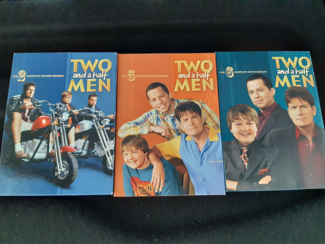 DVDs Two and a half men
