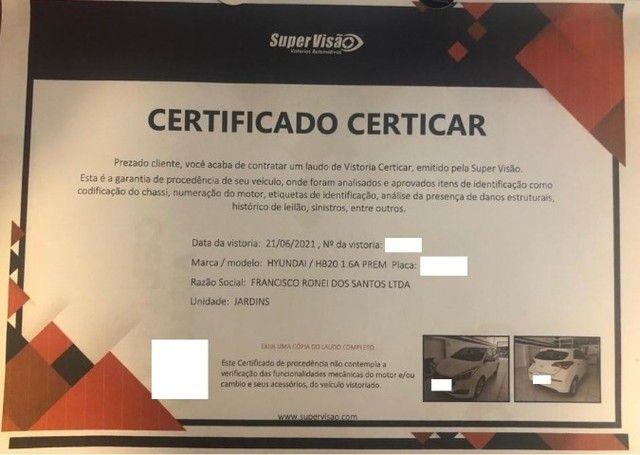 Hyundai HB20 1.6 Premium 16v Flex 4P Automático 2017 - Foto 5