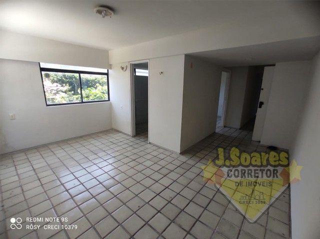 Manaíra, Beira-Mar, 2 quartos, 60m², R$ 1550 C/Cond, Aluguel, Apartamento, João Pessoa - Foto 3
