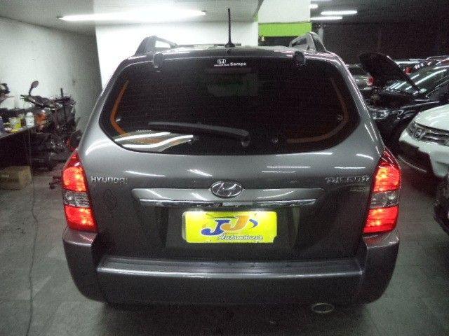 Hyundai Tucson GLS 2.0 16v Flex Completo DVD Couro 2016 Cinza - Foto 8