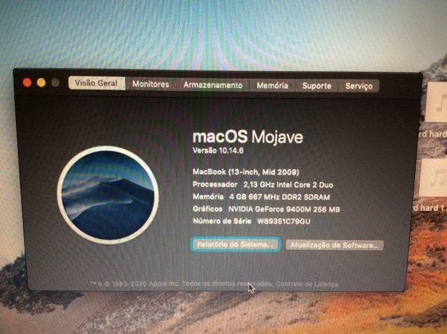 Notebook MacBook White com SSD - Foto 5