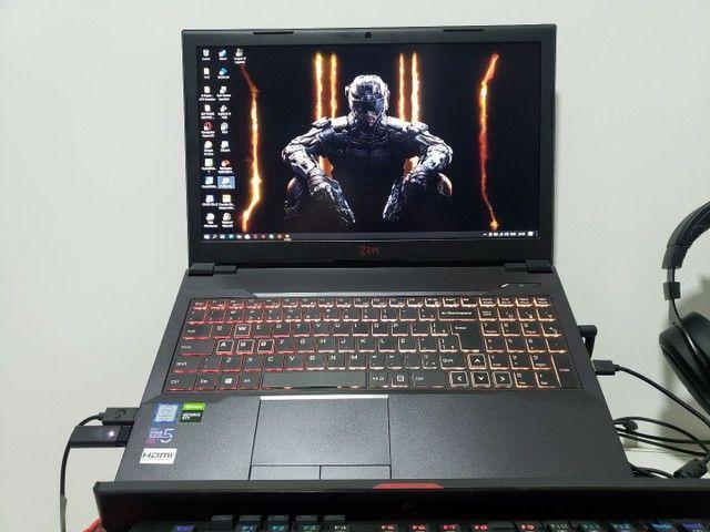Notebook gamer c/ i5 9400 GTX1050 - Foto 3