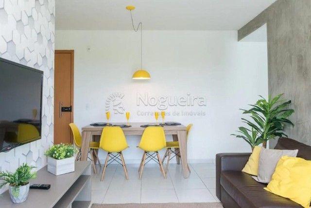 JO-Lindo apartamento mobiliado com 3/4 em Muro Alto - Foto 2