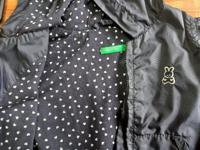 Jaqueta infantil Benetton - tamanho 04/06 meses - Foto 2