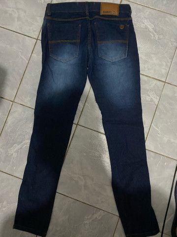 Calça jeans usada - Foto 2
