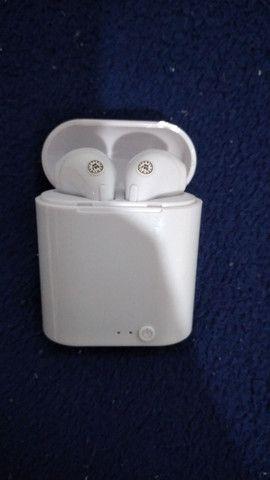 Fone de ouvido bluethooth i7-MiNi + carregador
