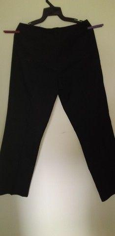 28 calça preta Fiori di Campi Tam M - Foto 2